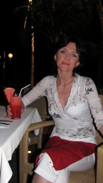Я и арбузный сок на острове Бали / Бали Индонезия фото  / ketvilz.ru