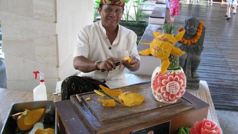 Ремесленничество на Бали.