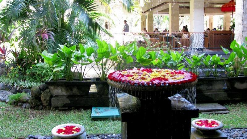 Отель на острове Бали. Индонезия.