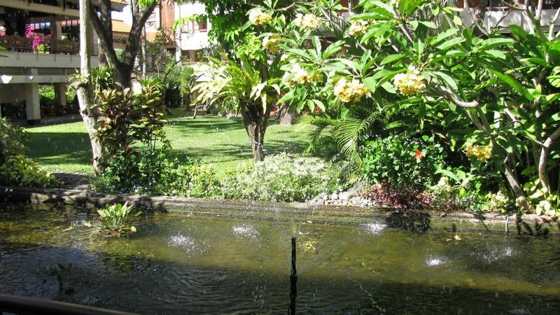 Фонтан в отеле. о.Бали.