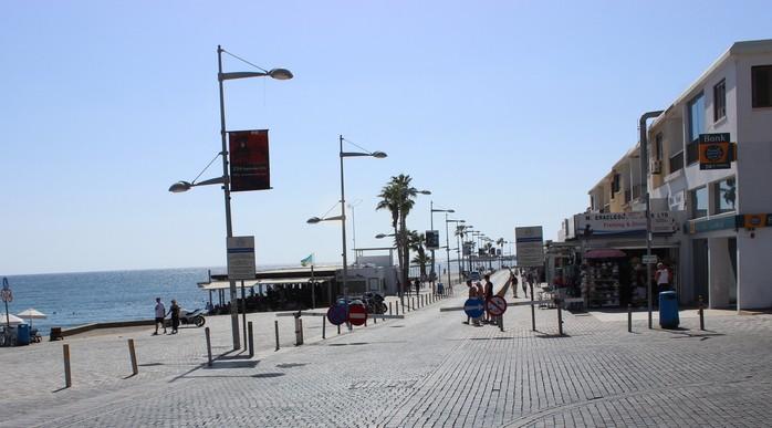 Дорога к порту Пафоса. Кипр.