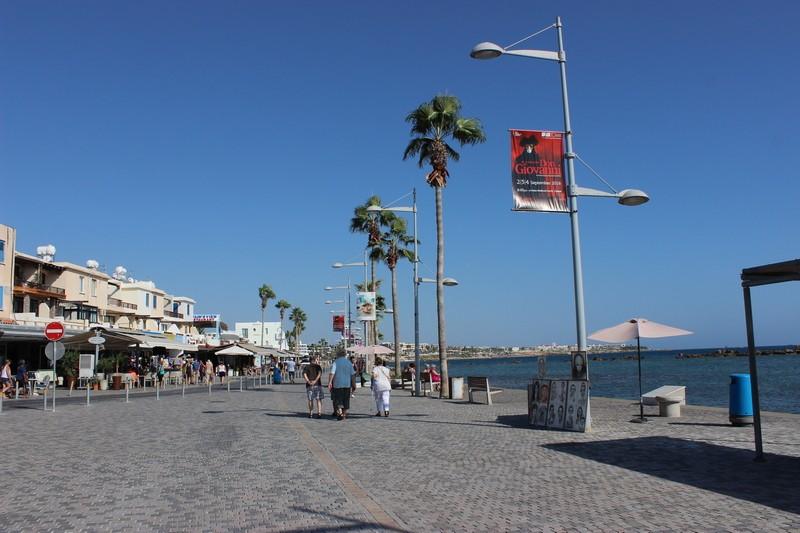 Гавань порта г.Пафос. Кипр.