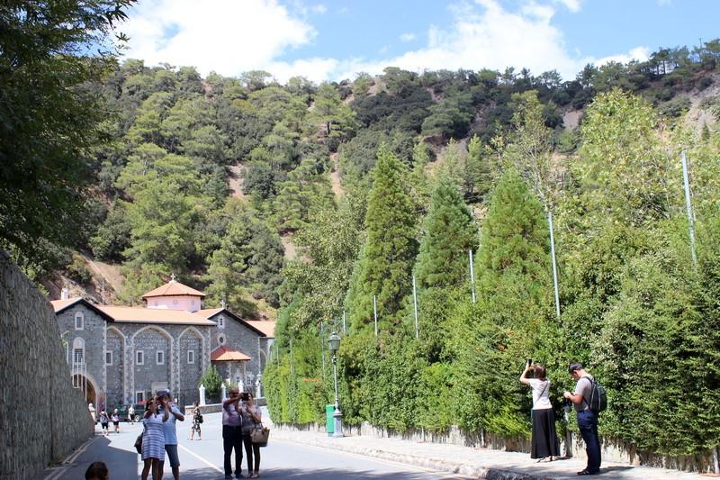 Монастырь Киккос. Кипр.
