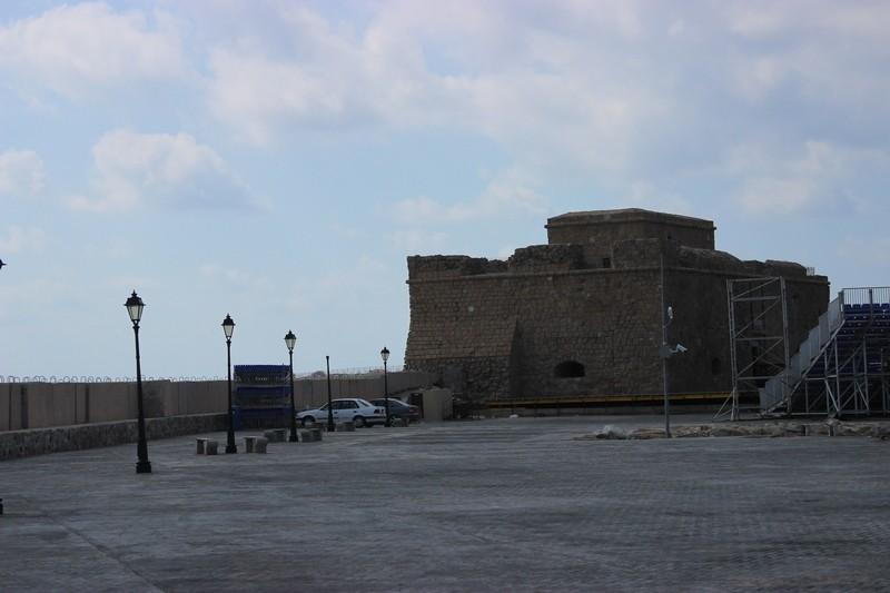 Замок в порту. г.Пафос. Кипр.