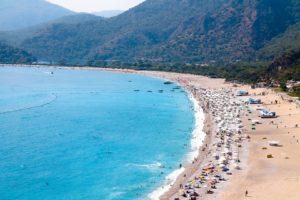 Пляж в Олюдениз, Турция / Фетхие Турция достопримечательности фото  / ketvilz.ru