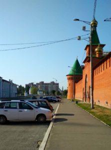 Царевококшайский кремль, г.Йошкар-Ола / что посмотреть в Йошкар-Оле за один день самостоятельно / ketvilz.ru