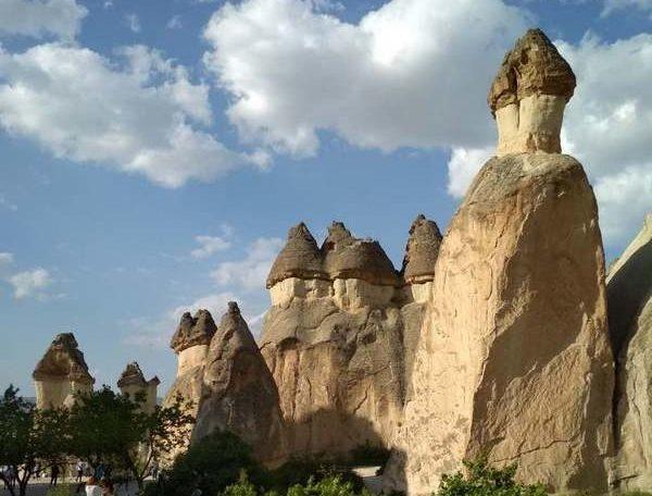 Каппадокия. Долина Пашабаг - долина монахов. Турция / / Чем интересна Каппадокия / ketvilz.ru