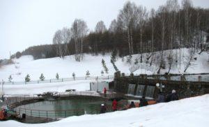 Источник Кургазак зимой / Достопримечательности реки Юрюзань / ketvilz.ru