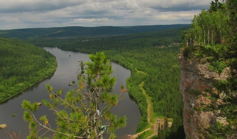 Камень Ветлан, река Вишера / Достопримечательности реки Вишера / ketvilz.ru