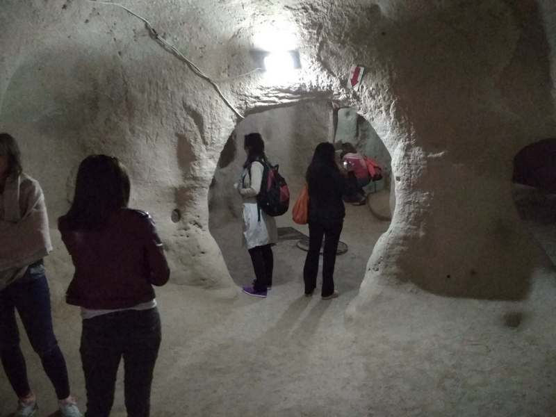 Каппадокия, подземный город Саратлы, Турция / / Чем интересна Каппадокия / ketvilz.ru