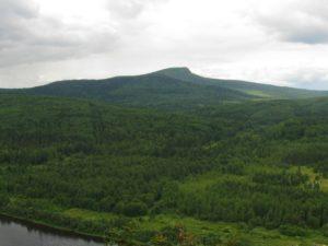 Гора Полюд, р.Вишера / Достопримечательности реки Вишера / ketvilz.ru