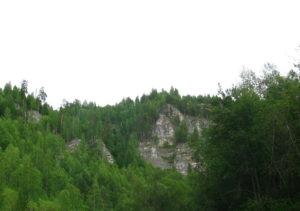 Пужный камень, р.Койва / достопримечательности Койвы / ketvilz.ru