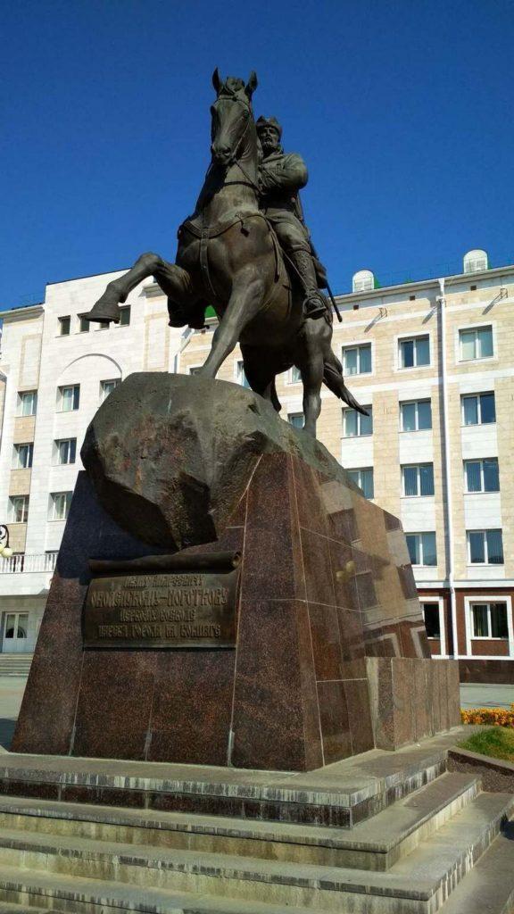 Памятник И.А. Оболенскому-Ноготкову, г. Йошкар-Ола