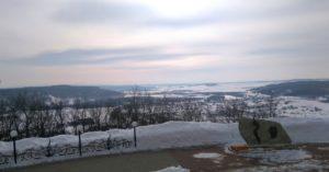 Вид с горы Янган-Тау зимой / Достопримечательности реки Юрюзань / ketvilz.ru