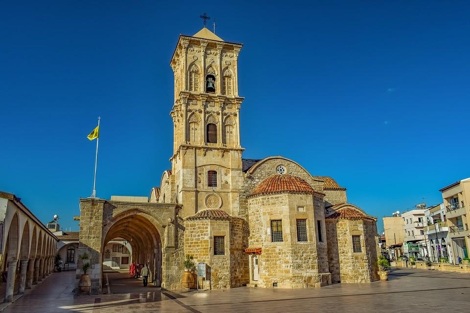 Церковь Святого Лазаря, Ларнака, Кипр  / что посмотреть на Кипре в Ларнака / ketvilz.ru