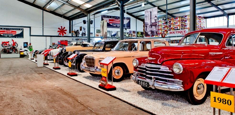 Кипрский музей исторических и классических автомобилей, Лимассол, Кипр / Лимассол, что посмотреть самостоятельно / ketvilz.ru