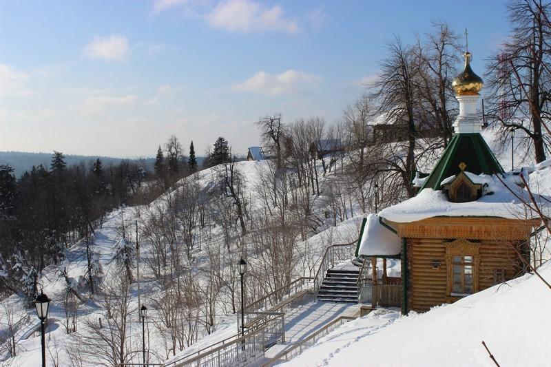 Купальня в Белогорском монастыре / Экскурсия в Белогорский монастырь / ketvilz.ru