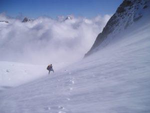 Будьте осторожны и внимательны при передвижении в снежных горах / Будьте осторожны и внимательны при передвижении в снежных горах / если снегопад застал вас в дороге или походе  / ketvilz.ru