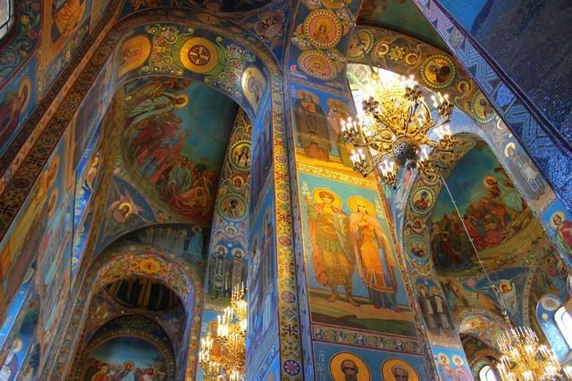 Мозаика в храме Спас на крови / ketvilz.ru