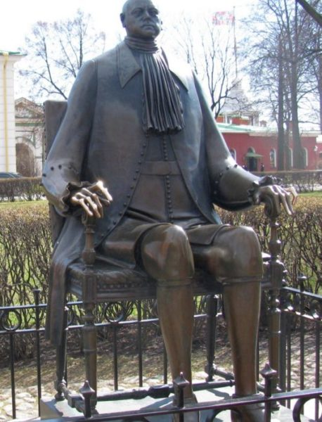 Статуя Петру I, Петропавловская крепость, г. Санкт-Петербург / ketvilz.ru
