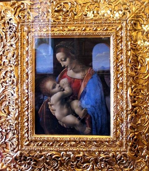 Дева Мария с младенцем, Эрмитаж, г. Санкт-Петербург / Эрмитаж Санкт-Петербург описание кратко