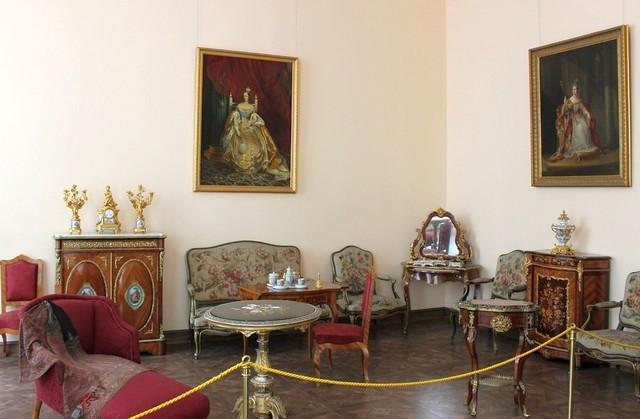 Декор в Екатерининском дворце / Екатерининский дворец Санкт-Петербург экскурсия / ketvilz.ru