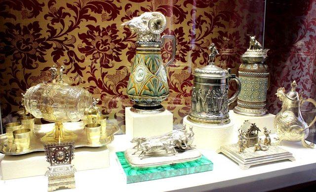 Экспонаты музея Фаберже / ketvilz.ru