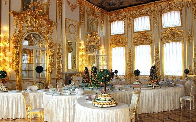 Комната в Екатерининском дворце / Екатерининский дворец Санкт-Петербург экскурсия / ketvilz.ru