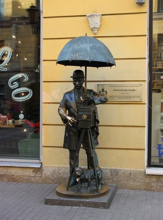 Памятник фотографу в Питере / Мистический Санкт-Петербург или где в Санкт-Петербурге можно загадать желание / ketvilz.ru