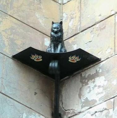 Памятник кошке Василисе / ketvilz.ru