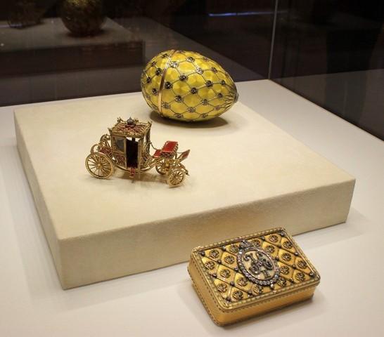 Яйцо Коронационное и Ювелирная карета, музей Карла Фаберже / ketvilz.ru