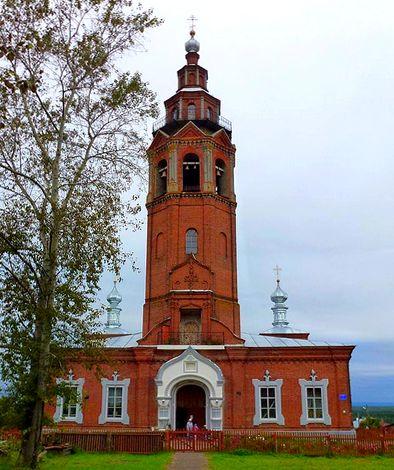 Воскресенский собор, г. Чердынь Пермский край / ketvilz.ru