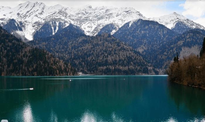 Абхазия. Озеро Рица / ketvilz.ru
