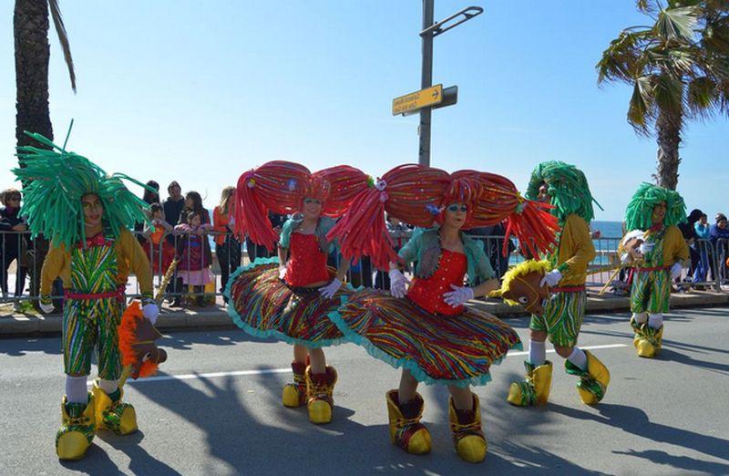 Карнавал в Ллорет де Мар. Испания / ketvilz.ru