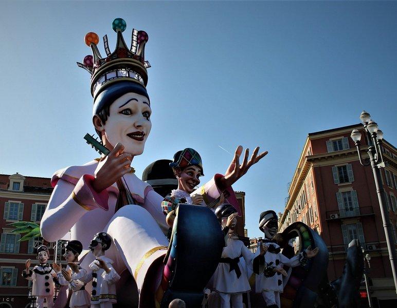 Карнавал в Ницце. Франция / ketvilz.ru