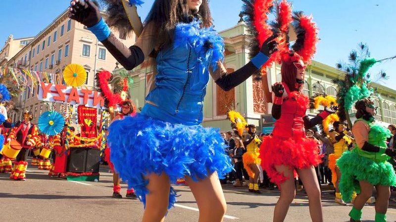 Карнавал в Риеке. Хорватия / ketvilz.ru