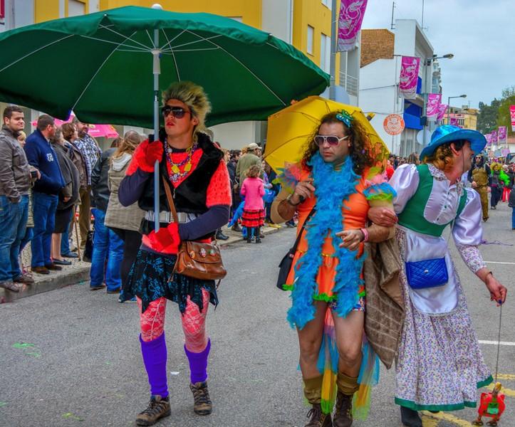 Карнавал в Торреш Ведраш. Португалия / ketvilz.ru