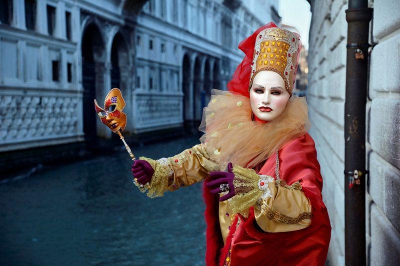 Венецианский карнавал и маски. Италия / ketvilz.ru