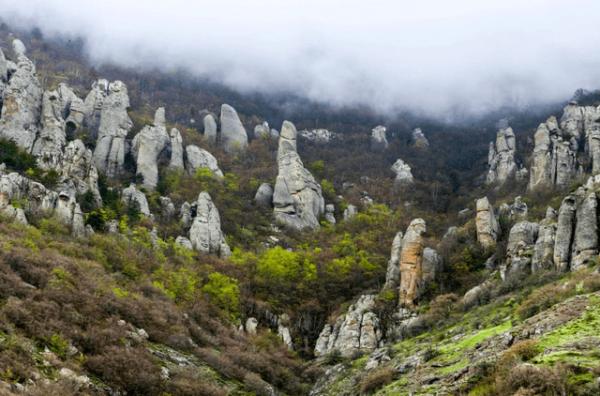 Долина привидений в Крыму / ketvilz.ru